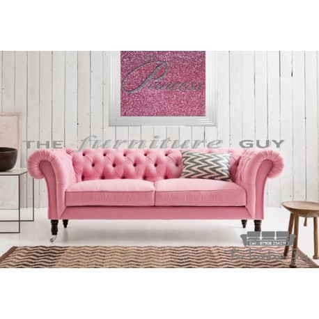 Chesterfield 3+2 Pink 'DIAMANTE'