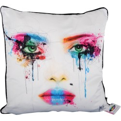 Face Colours Cushion [55x55 cm] Design Print