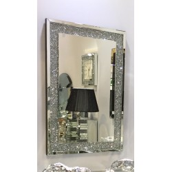 CRUSHED DIAMOND MIRROR [120x80cm]