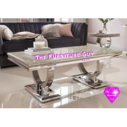 ARIANA GREY MARBLE  COFFEE TABLE
