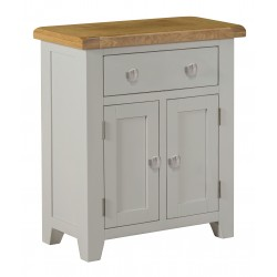 Lucca Oak Mini Sideboard [Grey/Natural]