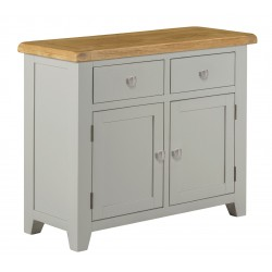 Lucca Oak Small Sideboard [Grey/Natural]