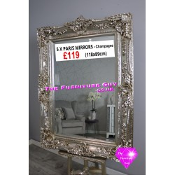 French Style Champagne Mirror [Large]