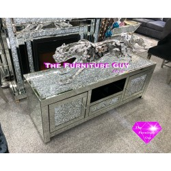 Crushed Diamond Large TV Unit [150 cm]