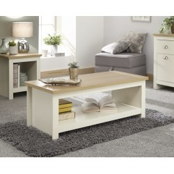 Lancaster Range Coffee Table with Shelf