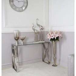 ARIAN Steel / Glass End Table