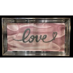 3D  Designer Art - LOVE - Pink