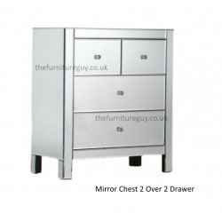 Venetion Mirror 4 Draw Chest