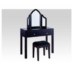 Dressing Table Set- Mirror/Black