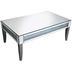 Floating Crystals Coffee Table