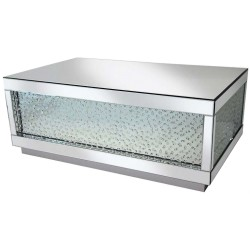 Floating Crystals Deluxe Coffee Table
