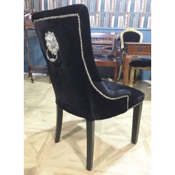 Lion Knocker Dining Chairs